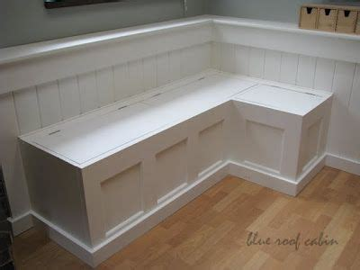 Diy Banquette Storage Bench by Diy Banquette I Think This Would Work In Small Dinning