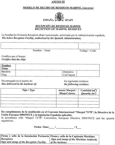 modelo de certificado de aptitud de medios flotantes de instalaciones boe es documento boe a 2002 24910