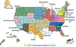us map where is chicago cdc protecting america s health at u s portso f entry