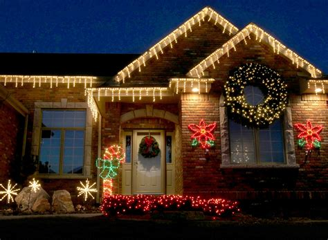 pictures of christmas decorations in homes holiday lighting christmas lighting colorado springs