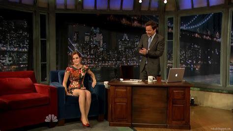 emma watson jimmy fallon 2012 tvdesab emma watson late night with jimmy fallon 09 13 2012