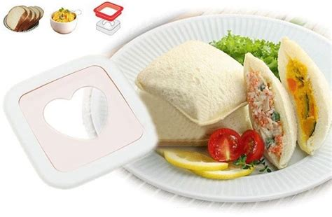 Sandwitch Maker Cetakan Sandwitch sandwich toaster shaped mold cetakan kue hati