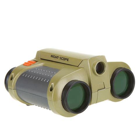 Scope 4 X 30mm Binoculars With Pop Up Light high quality binoculars 4 x 30mm folding telescope with pop up light binoculars vision