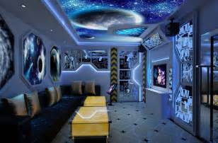Ktv Room Decoration Space Theme 3d House Free 3d House