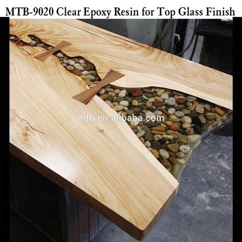 Epoxidharz Klar Polieren by Holz Tisch Topcoat Glas Finish Epoxidharz Und H 228 Rter