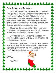 goodbye letter from on the shelf template goodbye letter to elvie