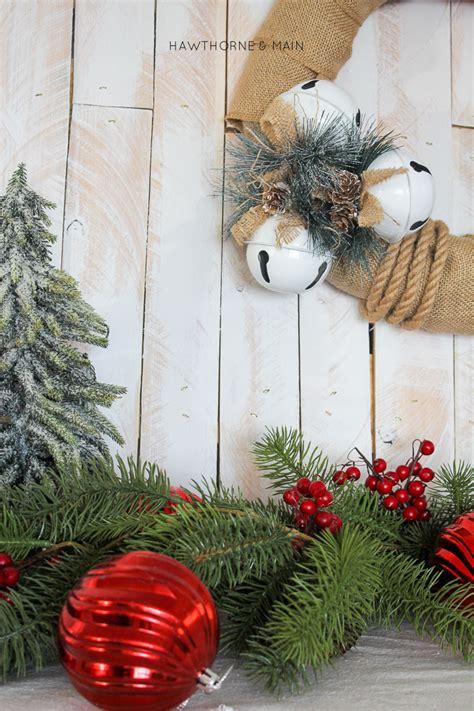 Simply Stunning Jingle Bell Janet jingle bells burlap wreath
