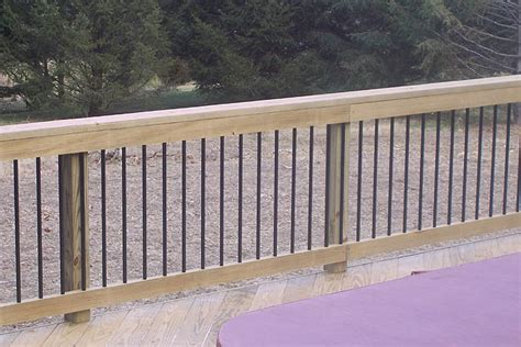 Deck Railing And Balusters Deck Railings Pictures Custom Deck Railing Spindles And