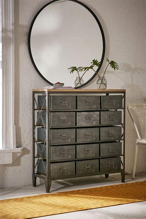 industrial storage dresser industrial chic decor