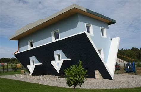 incredible house incredible upside down house even inside design swan