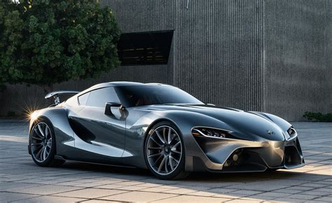 Toyota Ft 1 Concept Toyota Ft 1 Graphite Concept Revealed In Monterey