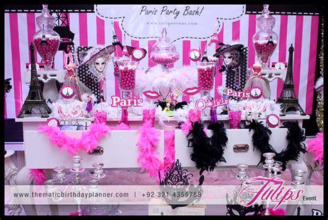 Flower Arrangements For Home Decor by Ooh La La Paris Theme Girls Party Ideas In Pakistan