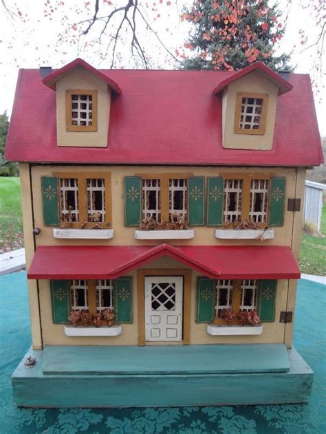 nice doll houses schoenhut doll house american original wooden nice