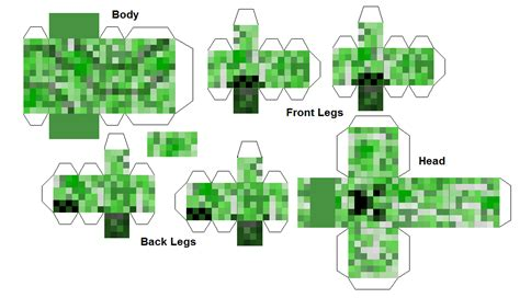 minecraft creeper template printables minecraft fan club