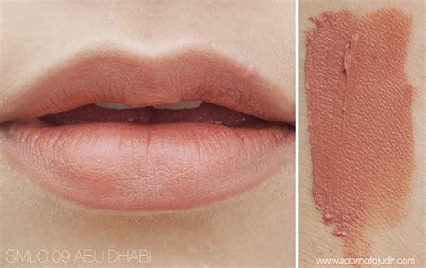 Nyx Abu Dhabi my nyx soft matte lip collections sabrina tajudin