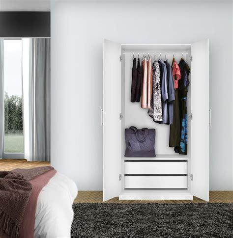 2 Door Wardrobe Closet Alta Wardrobe Cabinet 2 Door Cabinet Contempo Space