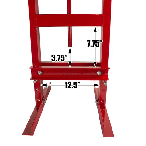 bench press plates 6 ton shop press with steel press plates hydraulic bottle