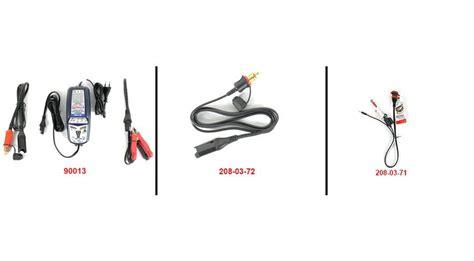 collegamento lade in serie chargeur de batterie optimate 4 dual program canbus pour