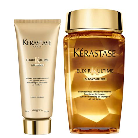 Kerastase Bain Elixir Ultime Shoo 250ml K 233 Rastase Elixir Ultime Huile Lavante Bain 250ml And