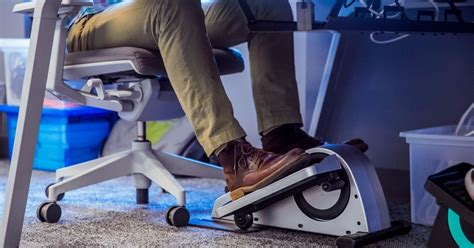 Desk Fit by Stay Fit While At Work Using An The Desk Elliptical