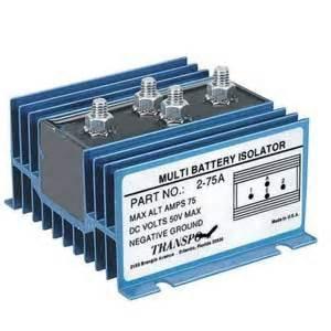 battery isolators mercury mariner outboards basic