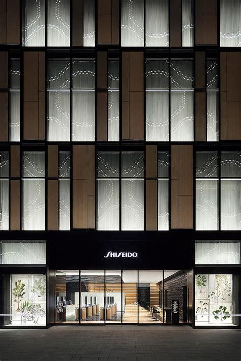 nendos  interior design  shiseido flagship store