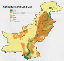 crops map agricultural map pakistan dost pakistan
