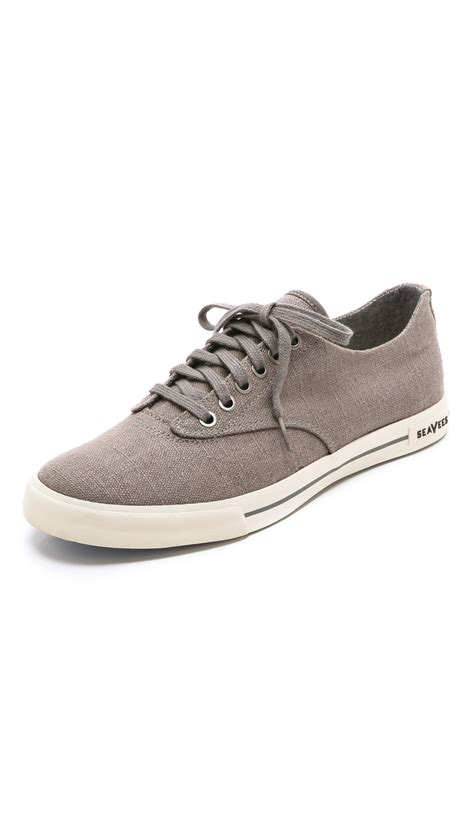 plimsoll shoes for seavees hermosa plimsoll sneakers in gray for