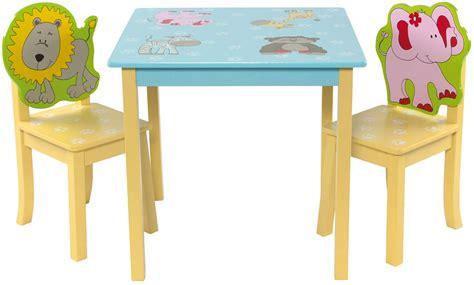 kinder tisch stuhl kinder sitzgruppe mit kindertisch tisch und 2 st 252 hlen