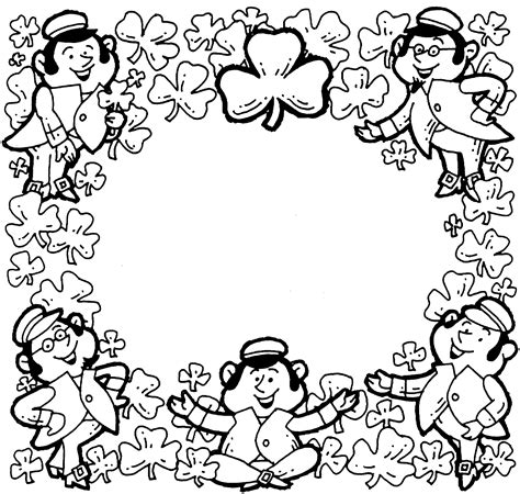 coloring pages for st patrick s day st patricks day coloring pages dr odd