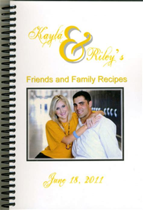 Friend And Family Cookbook friends and family cookbooks sle cover 03
