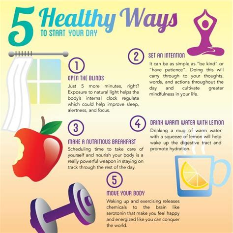 What A Way To Start A Day by 5 Healthy Ways To Start Your Day Pictures Photos And
