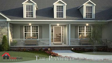 house plans with 3d tour 3d virtual tour of pamlico house plan youtube
