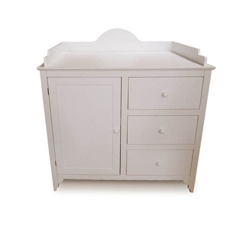 Wood Changing Table Dresser Baby Changing Table Dresser Wood Shelf Drawers Mat Stable Safe Winding Tower Ebay