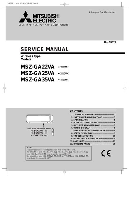 MITSUBISHI ELECTRIC Mitsubishi Split Type User Manual   32 pages   Also for: Heat Pump Air