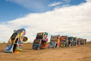 Where Is The Cadillac Ranch Located Cadillac Ranch Amarillo Tx Everyday Nature