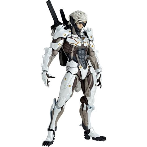 Sepatu Anime High Sneakers Metal Gear Rising revoltech yamaguchi series no 140ex metal gear solid rising revengeance raiden white armor