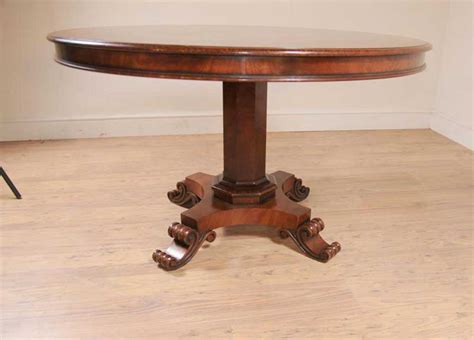 Marquetry Dining Table Regency Centre Table Marquetry Inlay Dining Tables