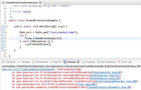 tutorial java file java file class java io file journaldev