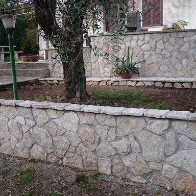 muretto giardino realizzazione muretto giardino albuccione roma