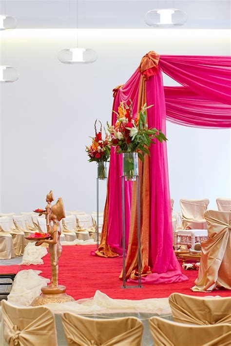 Indian Wedding Decorations, Indian Wedding Flowers, Mandap