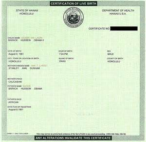obama s fake birth certificate