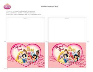 disney princess thank you cards disney family