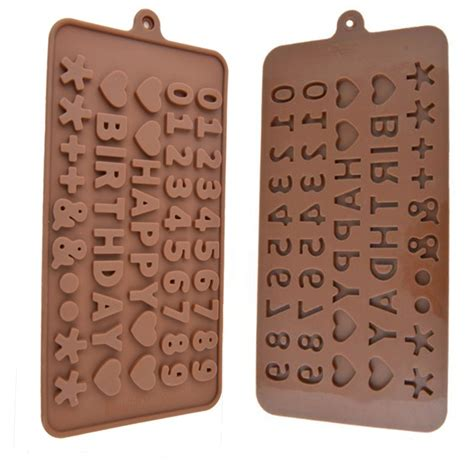 new silicone letter and numbers cake mold fondant cake molds soap chocolate mold for the kitchen
