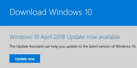 how to force windows 10 update how to force windows 10 to download the april 2018 update
