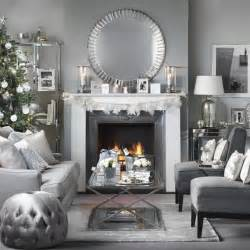 Grey And White Home Decor by 70 Stylish Christmas D 233 Cor Ideas In Grey Color And French