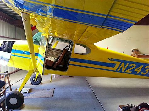 Cessna 170 Interior by Home Cessna 170 For Sale