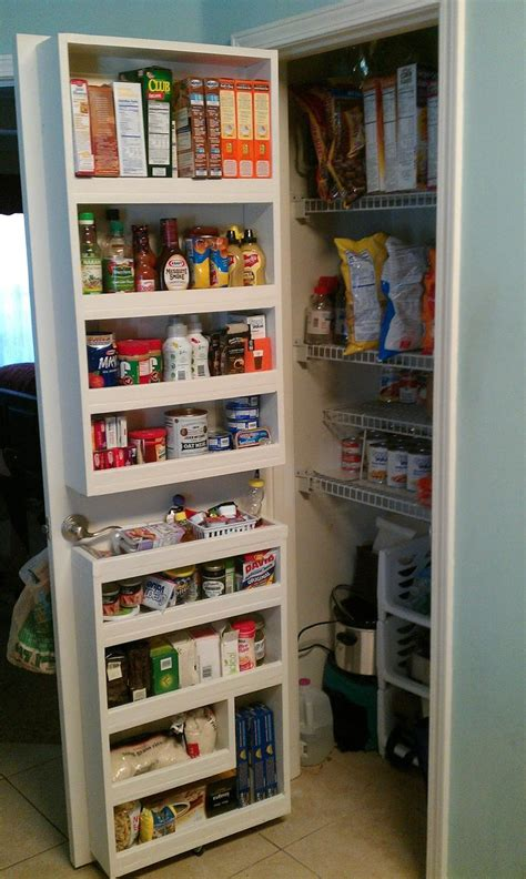 25 best ideas about pantry door organizer on