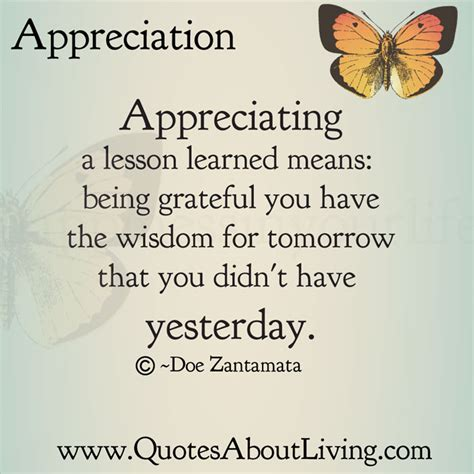 Appreciation Letter Quotes Quotes About Appreciation Quotesgram