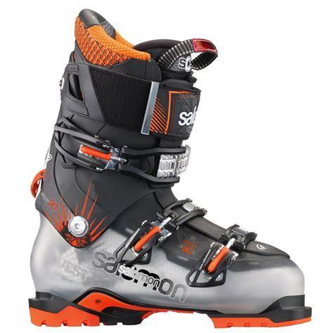 salomon ski boots salomon quest 90 ski boots 2014 evo outlet